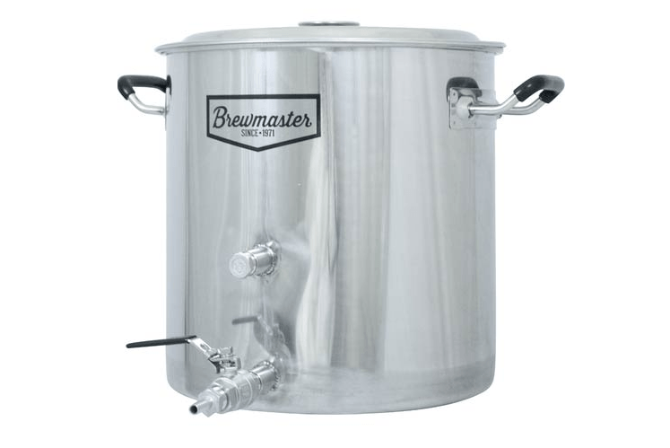 Brewmaster Stainless Steel Brew Kettle