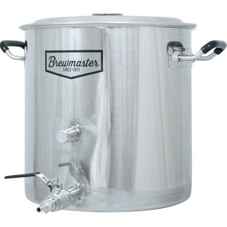 AIH 8.5-Gallon Brewmaster Stainless Steel Brew Kettle