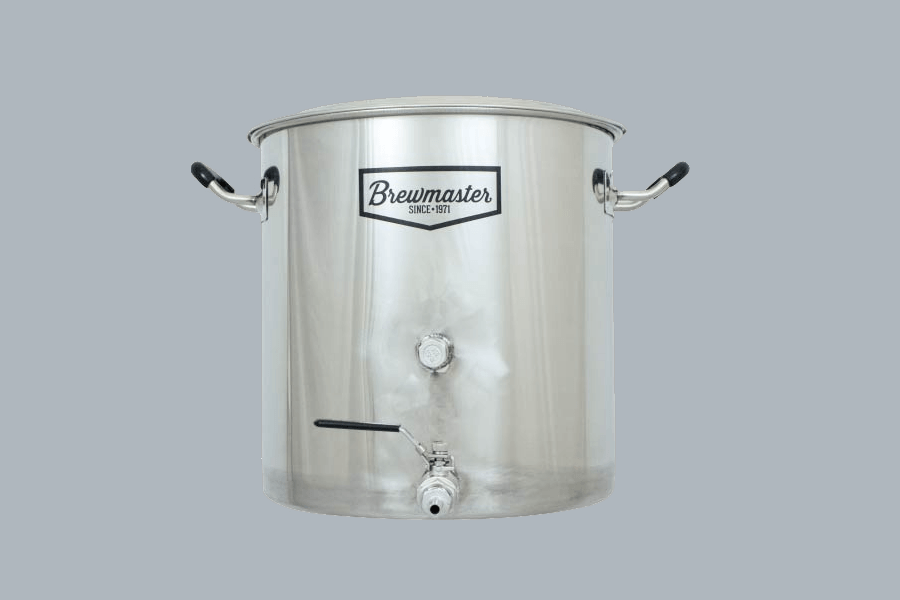 AIH 8.5-Gallon Brewmaster Stainless Steel Brew Kettle Review