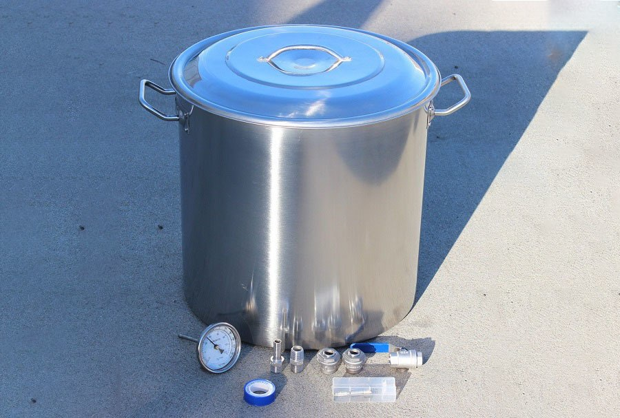 CONCORD 15-Gallon Stainless Steel Home Brew Kettle Review
