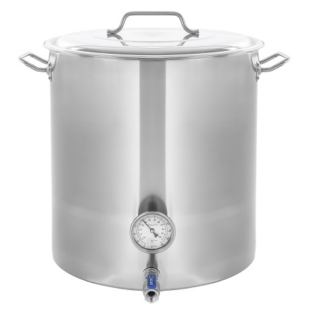 CONCORD 15-Gallon Stainless Steel Home Brew Kettle