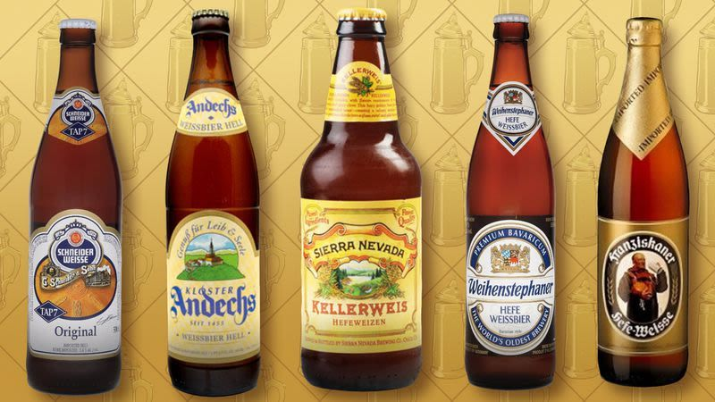 German Hefeweizen Beer