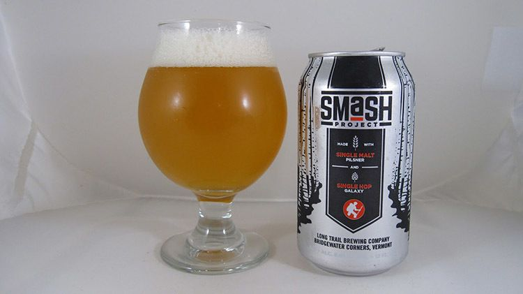Long Trail SMASH Beer